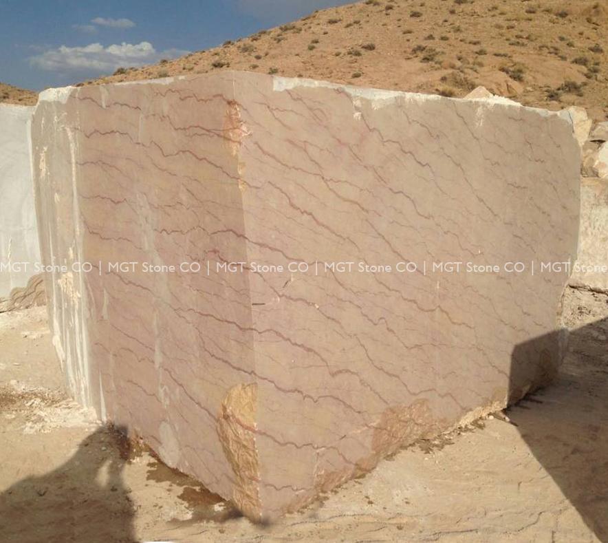 Scarlet Marble Block