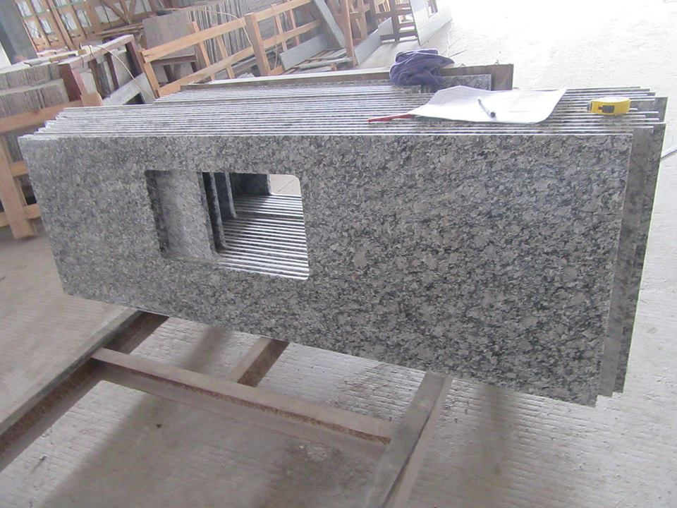 sea white surf white granite countertop