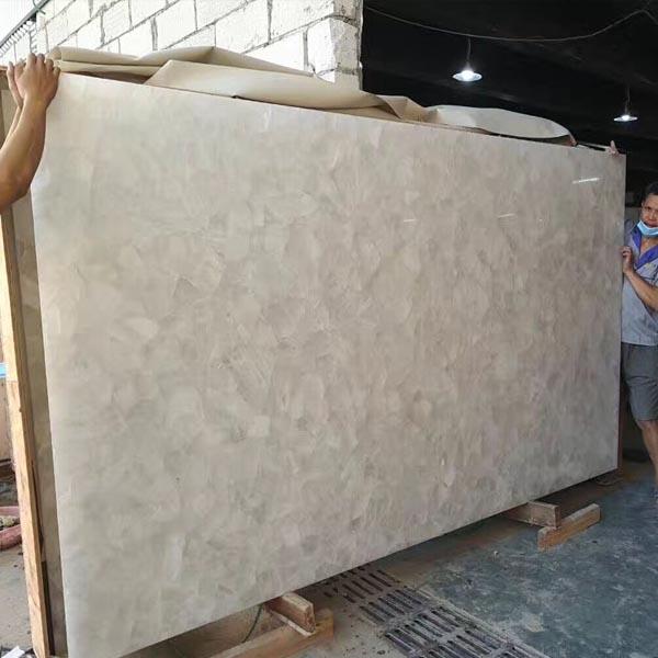 Pure White Semiprecious Stone