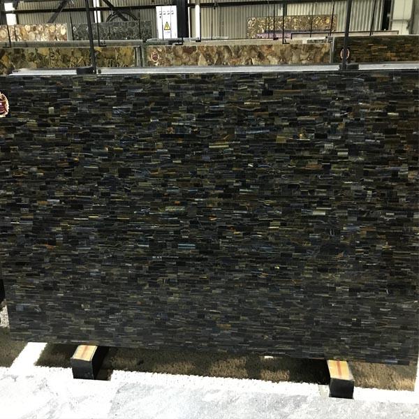 Black Semiprecious Stone