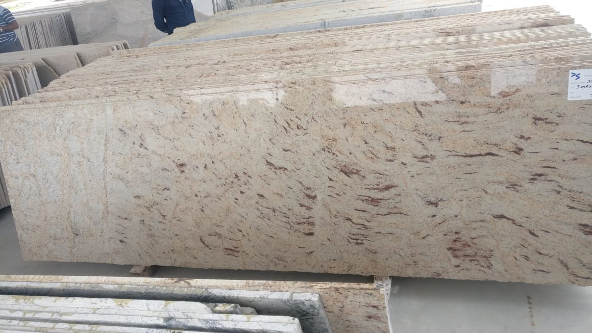 Shiva Gold Polished Granite Stone Slabs