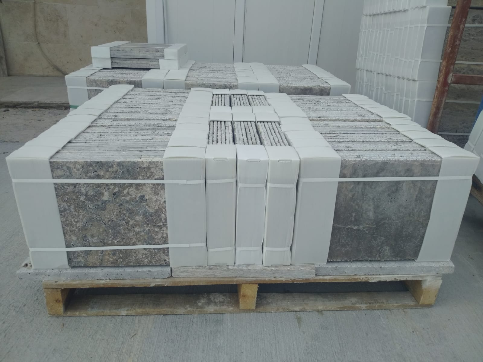 Silver Travertine Tiles Grey Travertine Tiles for Flooring