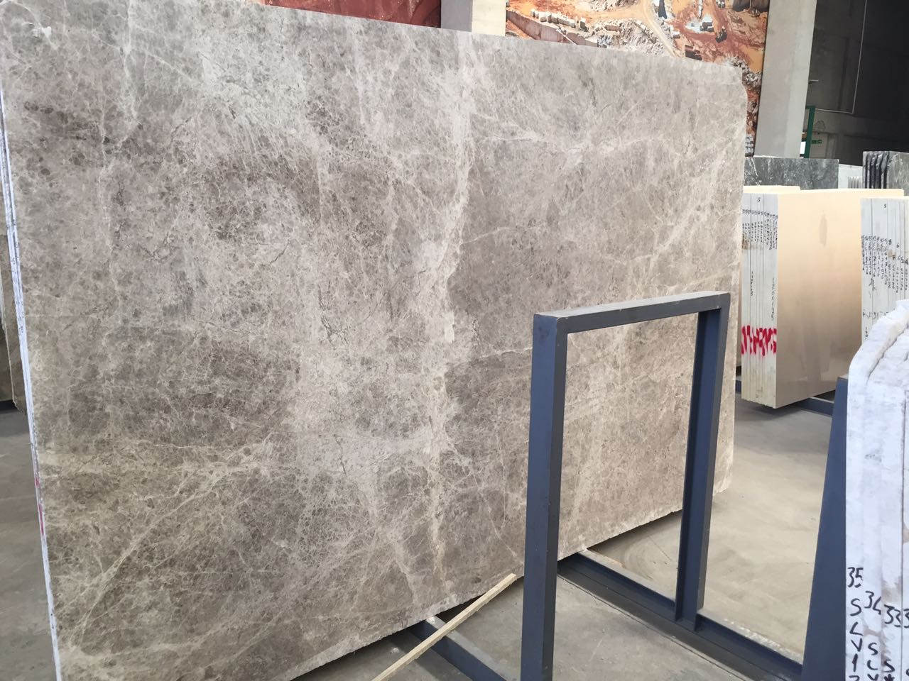 Silver Shadow Marble Slab