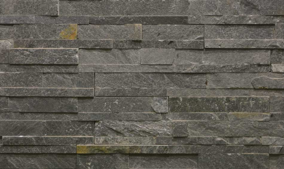Slate Stone Elevation : Silver gray