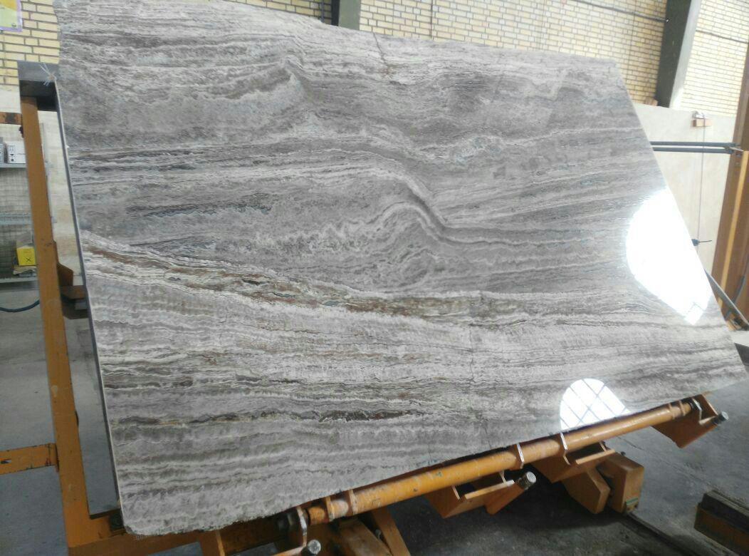 Travertine Silver Light