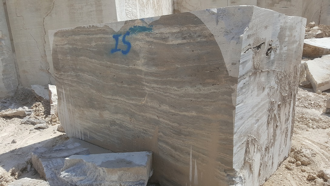 silver Turkish travertine