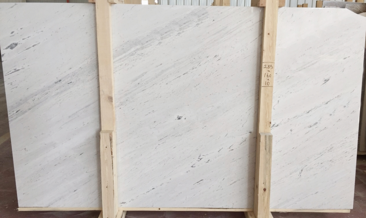Alexander White Sivec Marble Slabs