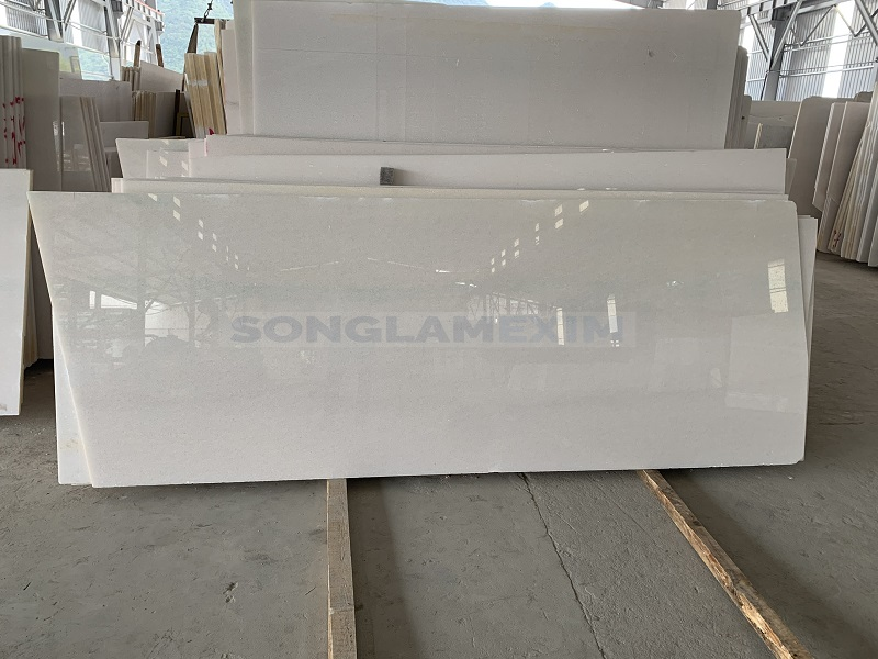 White Crystal White Marble With Vein