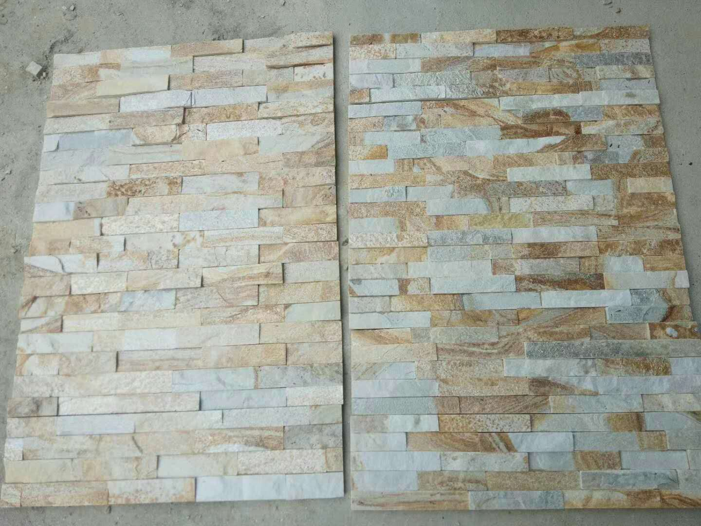 Natural Quartz Cutlured Stone