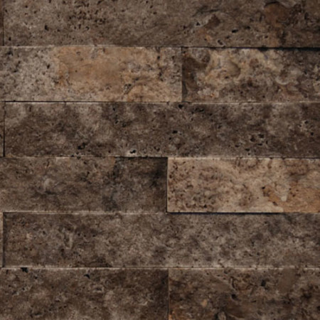 Silver Travertine Split Face