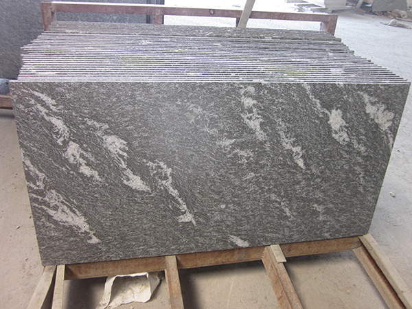 Granite Snow Grey Tiles Flamed Granite Tiles