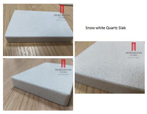 High quality Snow White Quartz Slab