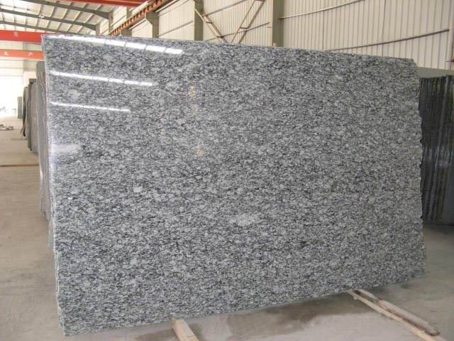 Surt white granite slab