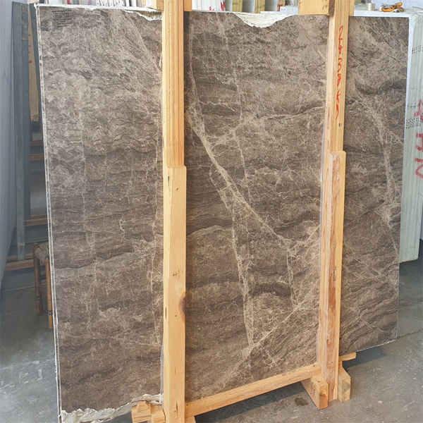 Brown Dark Emperador Marble Slab
