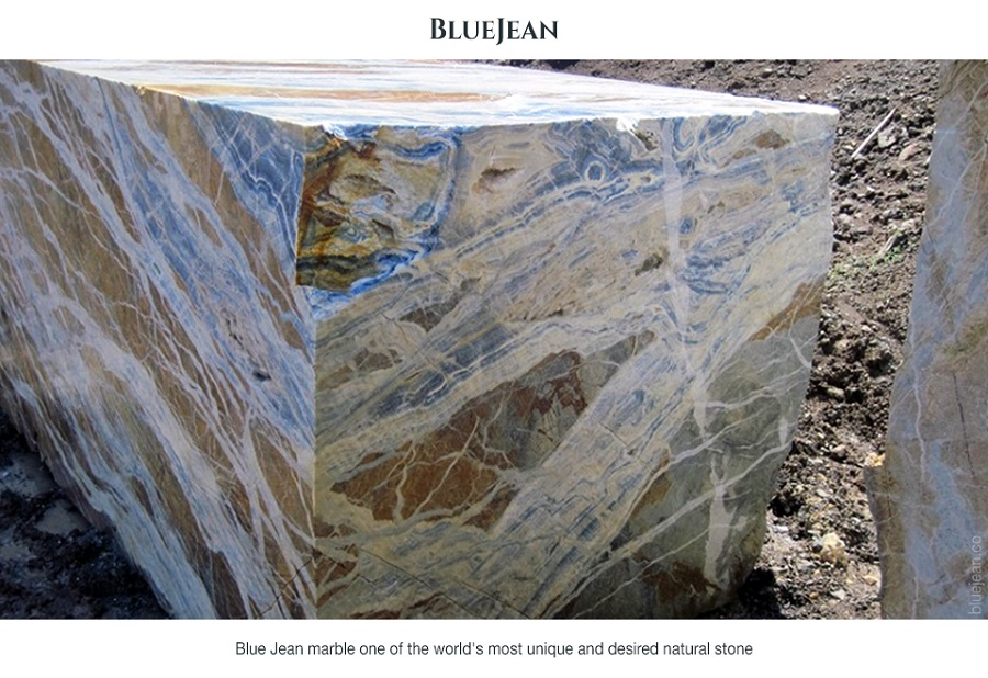 Blue Jean Marble Blocks