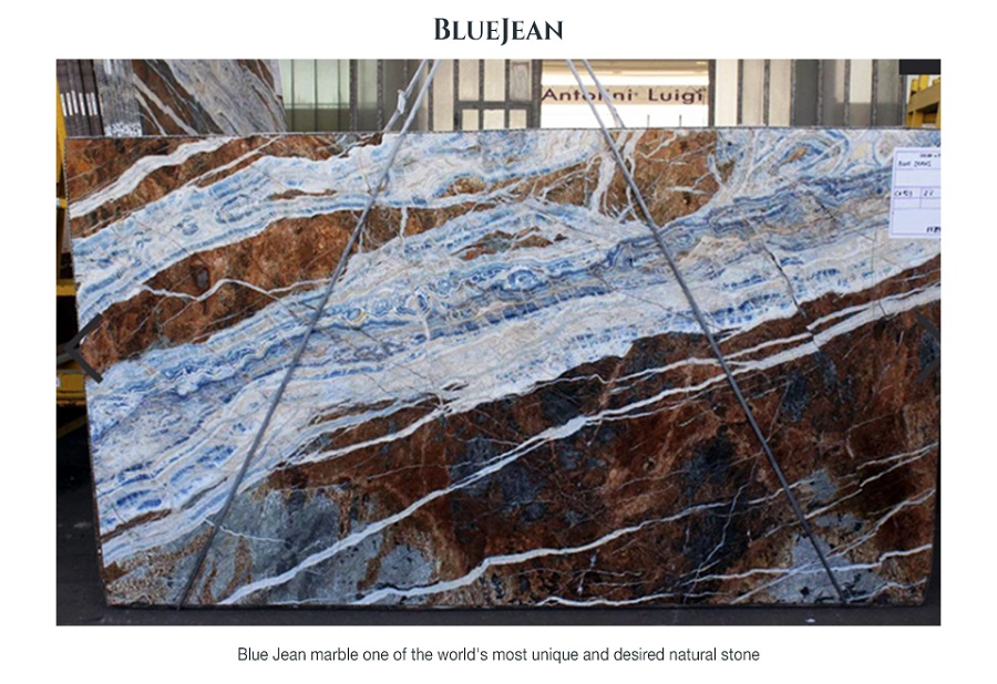 Blue Jean Marble from Turkey