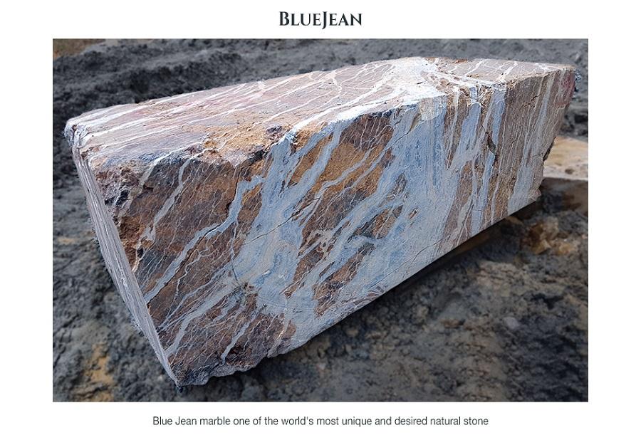 Blue Jean Marble