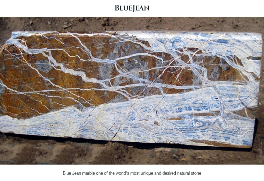 Blue Jean Marble Stone Slabs