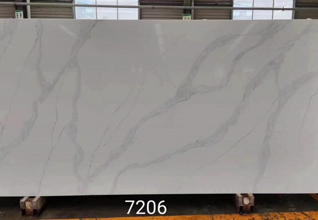 staruario light quartz stone slab