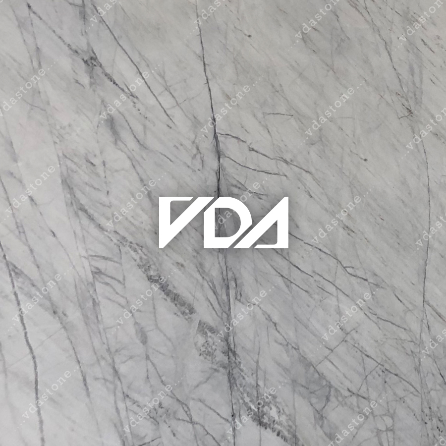 White Marble With Grey Line A
