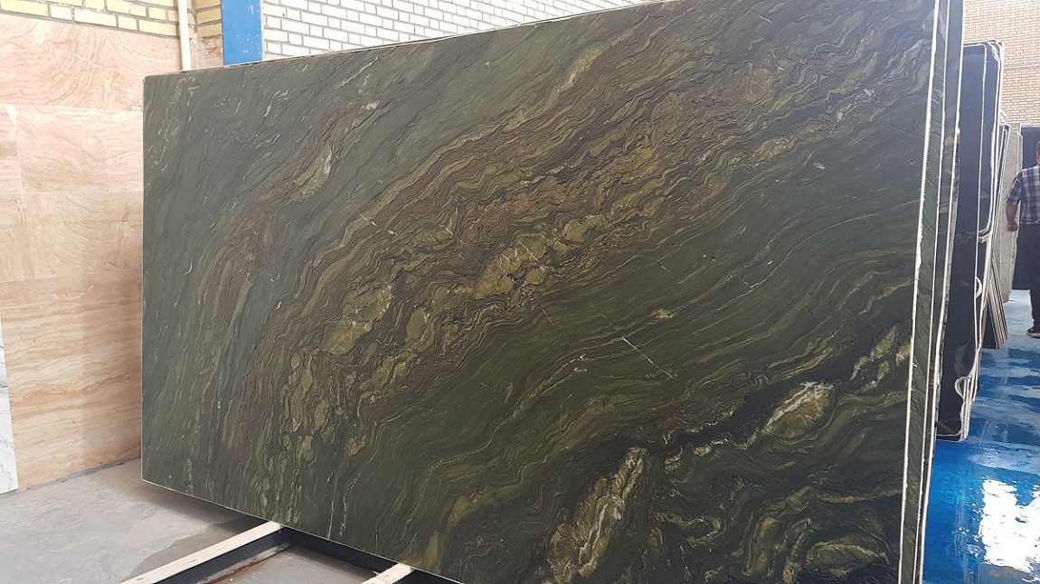 Verde Fantastico Granite Slab