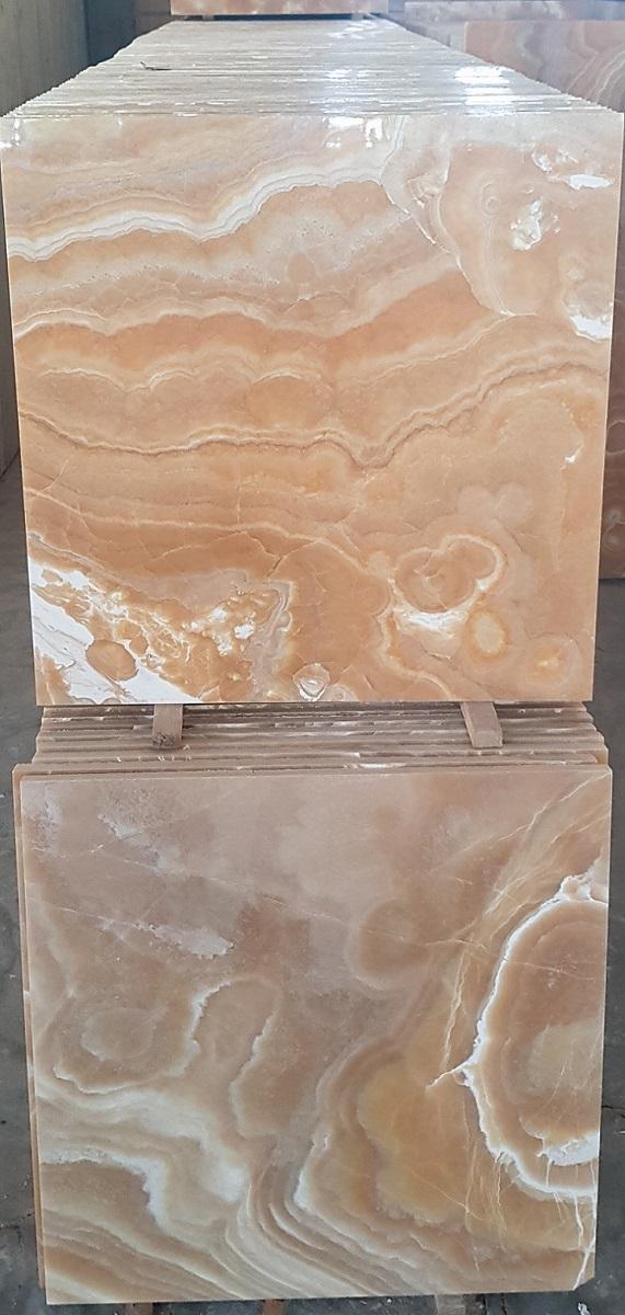 Orange Onyx Tile