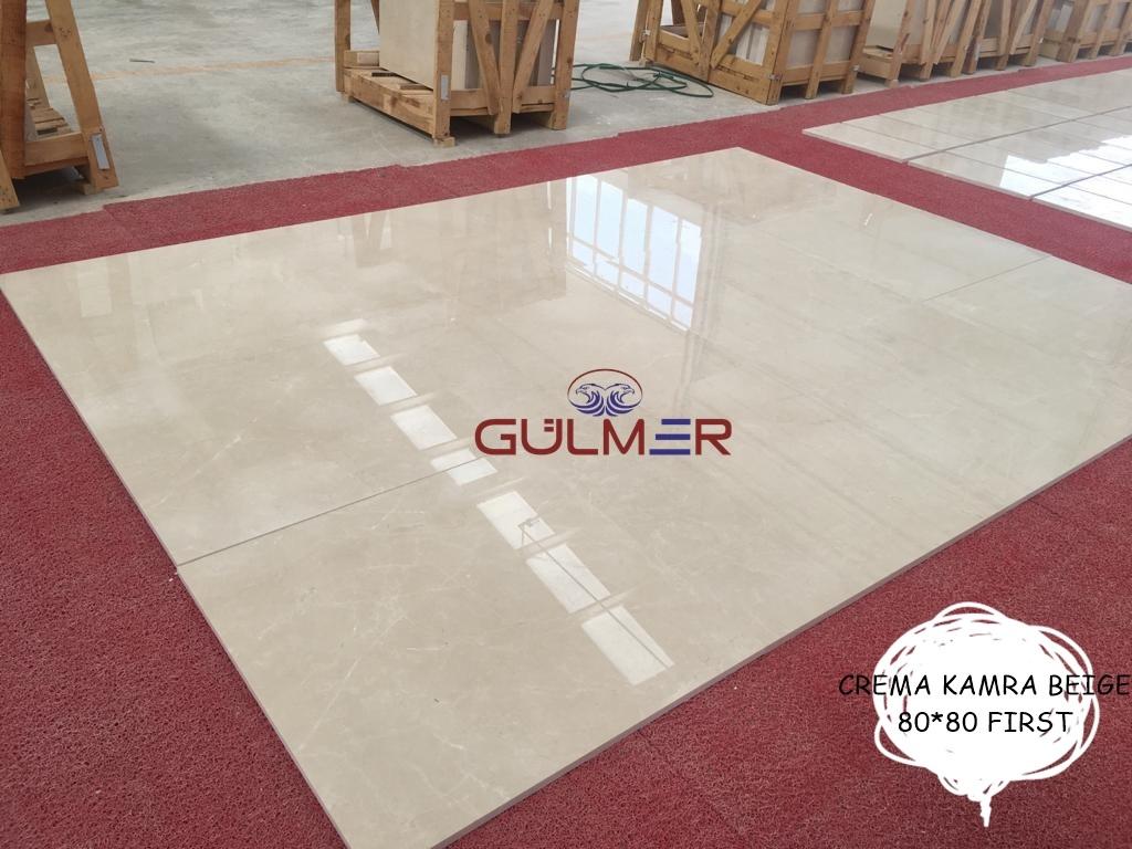 Crema Kamra Beige Marble Tiles