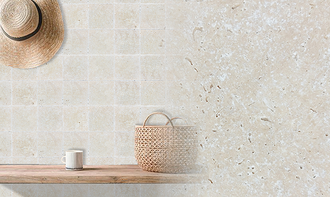 Classic Light Antique Travertine