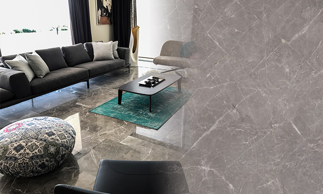Storm Grey Marble