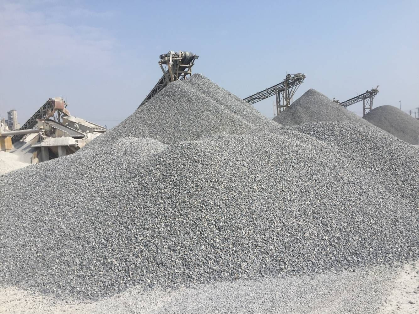 Gravel stone Crushed stone