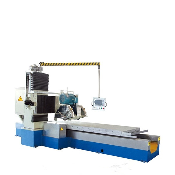 Stone Lathe Machine Plc Cnc Granite Marble Profiling for Skirting Linear Tombstone