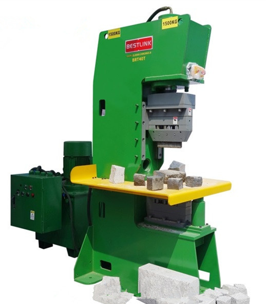 Stone Machinery Open-Frame Hydraulic Natural Stone Splitting Machines Paver and Walling Splitters Guillotine Hydra