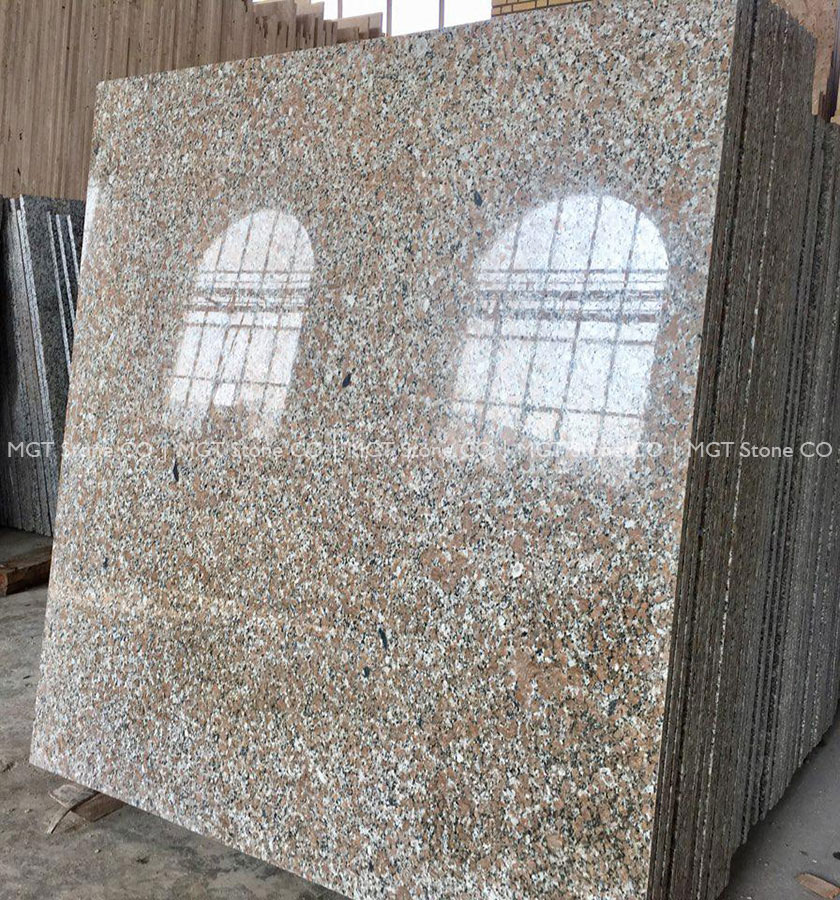 Sun Orange Granite Slab