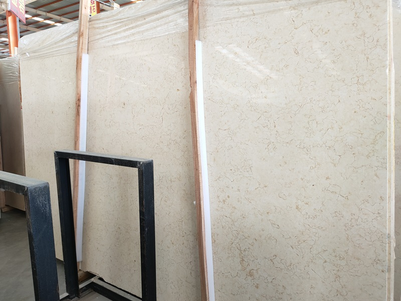 Cheap Price Beige Marble Slabs Tiles