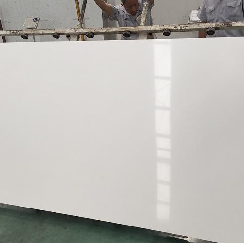 Super white color artificial quartz stone China