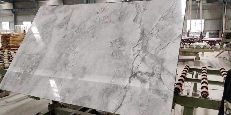 Super White Polished Quartzite Slabs