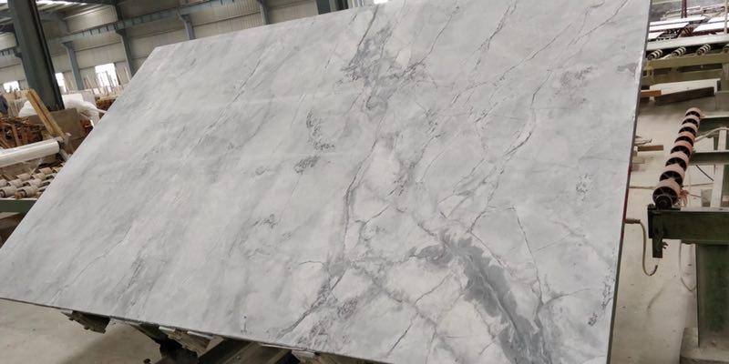 Super White Quartzite Slabs Polished Quartzite Slabs