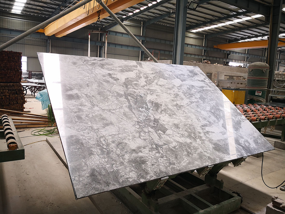 Super White Quartzite Slab