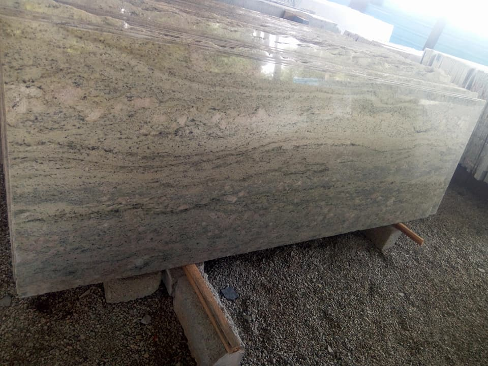 Surf Green Cutter Granite Slabs