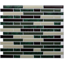 Self adhesive stone design vinyl wall tile