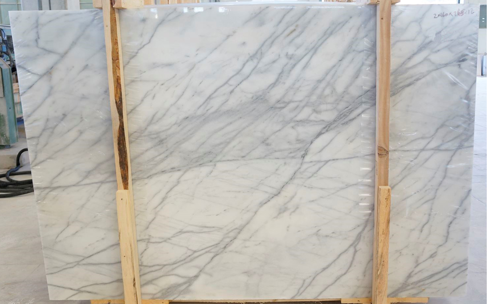 Turkish White Carrara Marble Slab