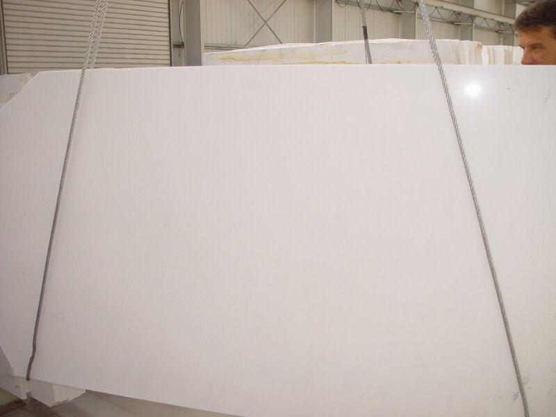 Thassos White Polished Marble Slabs