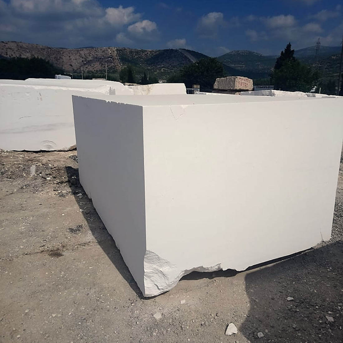 Thassos White Blocks