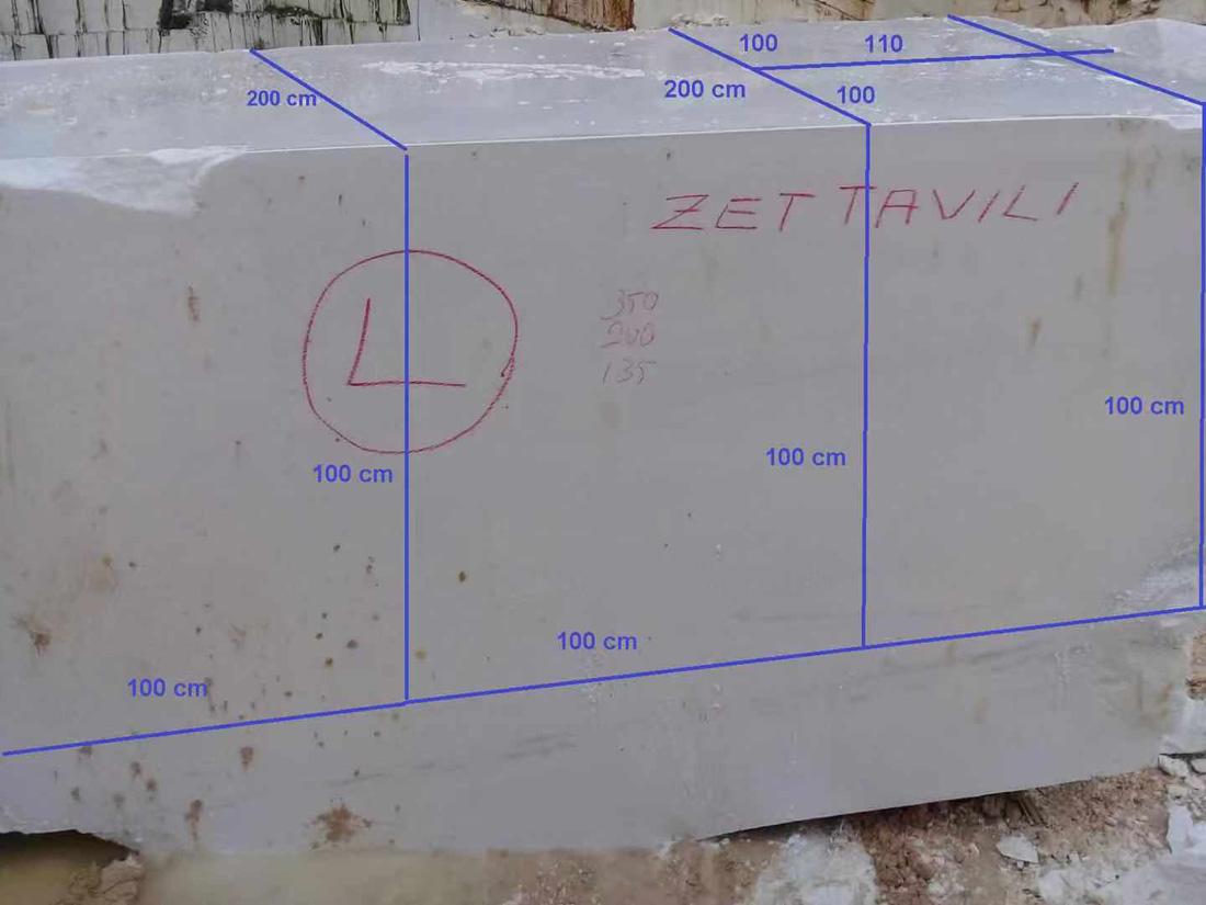 thassos white marble block 4