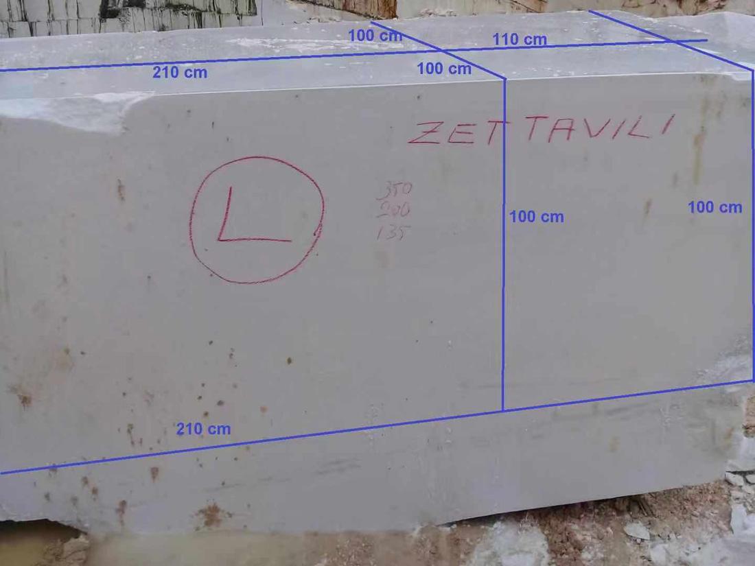 thassos white marble block 5
