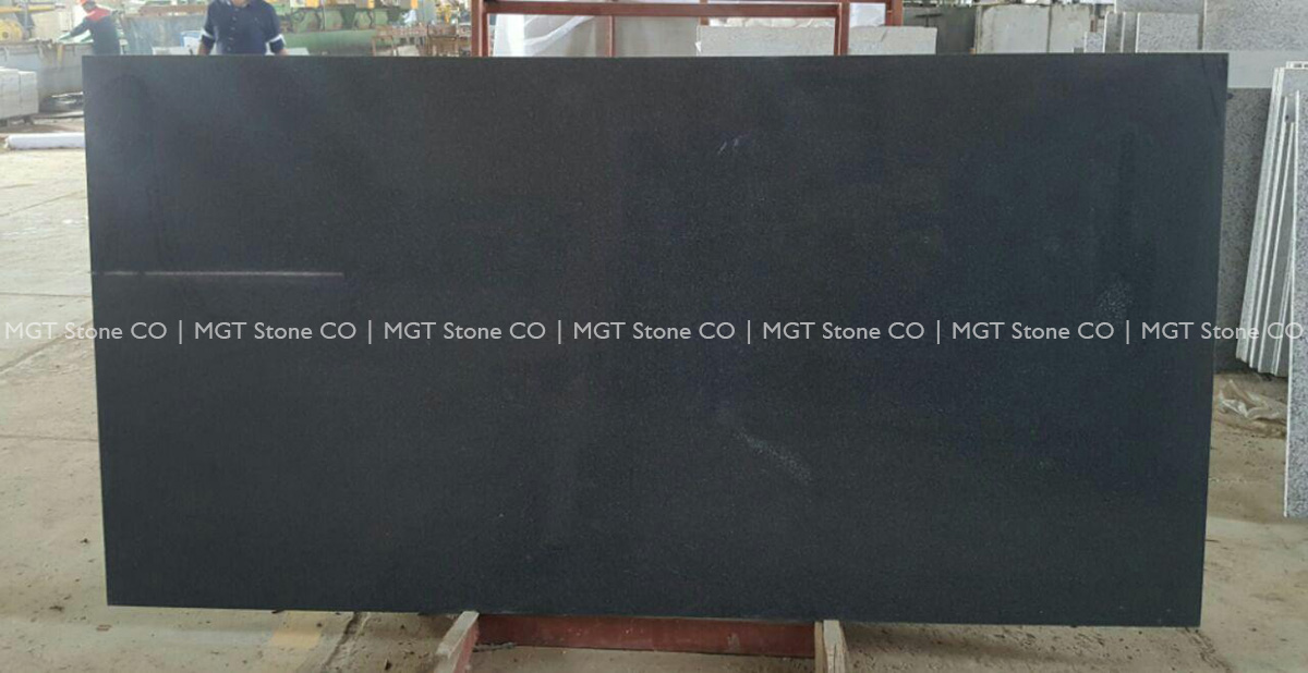 Tiger Black Granite Slab