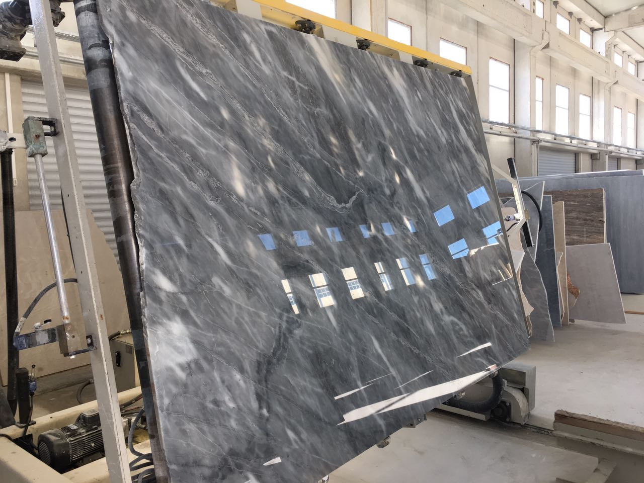 Grey Marble Polished Slabs