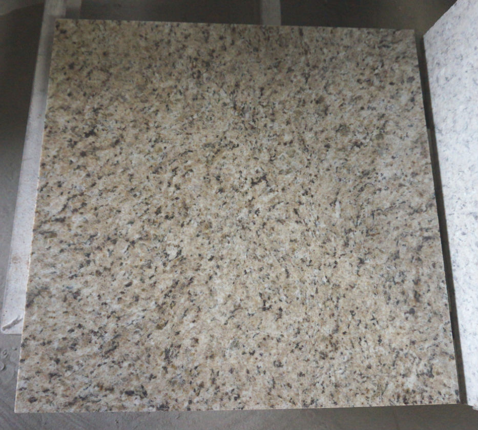 Brazil GoldBanana Yellow Granite Tile