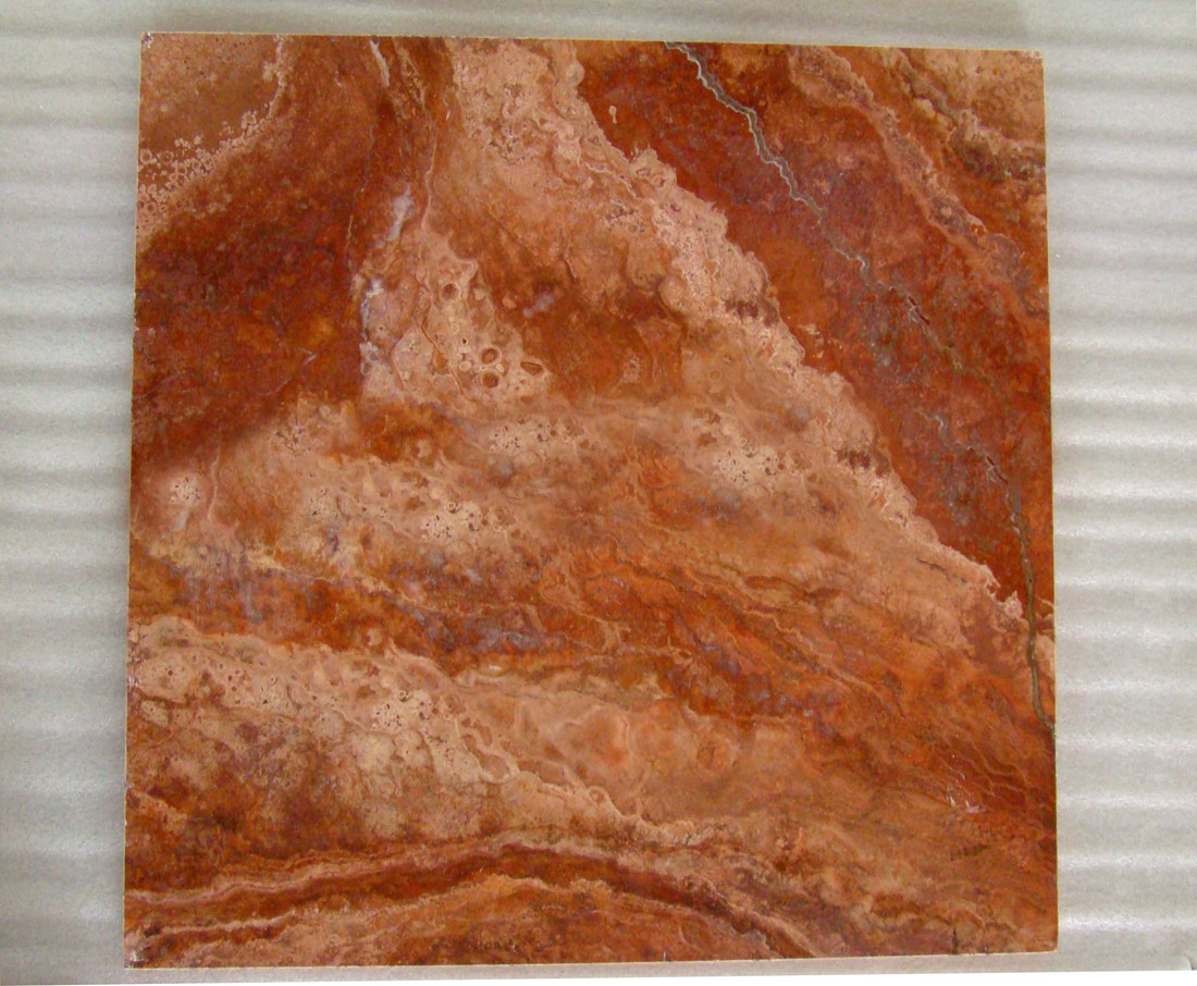 Iran Red Travertine Tiles
