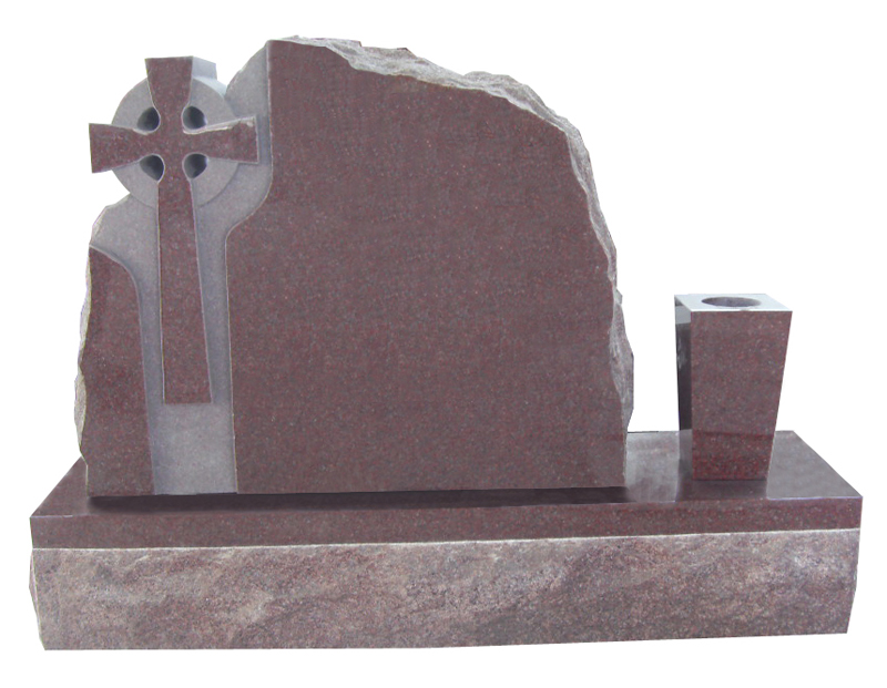 Indian Red tombstone